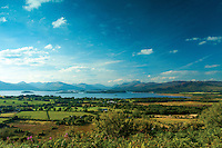 Loch Lomond, Ben Lomond and the Luss Hills, from Duncryne, Gartocharn, Loch Lomond and the Trossachs National Park, Argyll & Bute