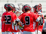 Palos Verdes, CA 03/26/16 - San Clemente defense huddles after a Palos Verdes score.