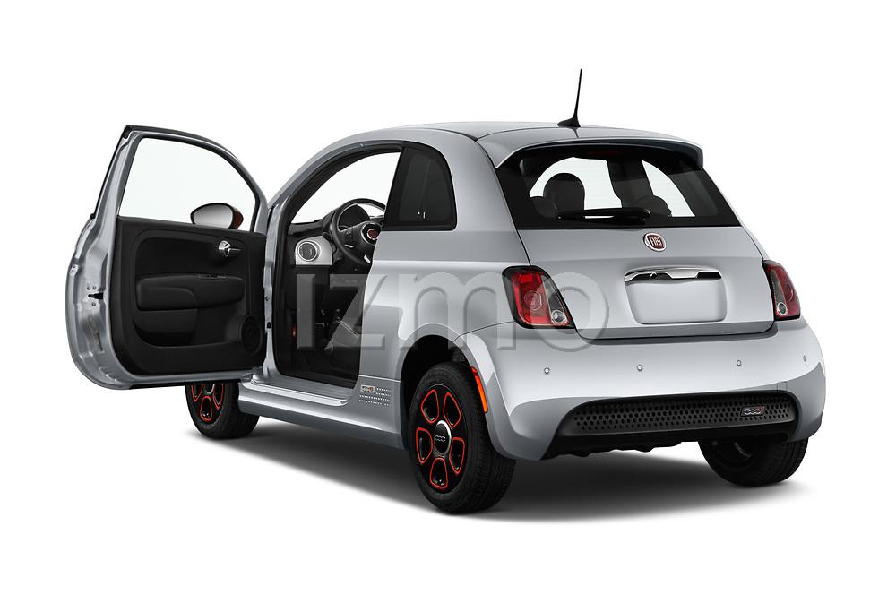 Car images of 2019 Fiat 500e Battery-Electric 3 Door Hatchback Doors