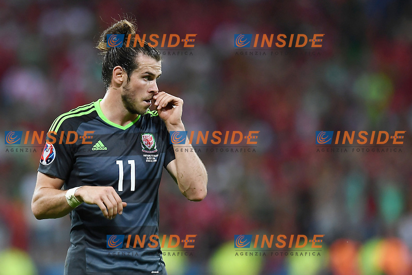 Gareth Bale<br /> Lyon 06-07-2016 Stade de Lyon Football Euro2016 Portugal - Wales / Portogallo - Galles Semi-finals / Semifinali <br /> Foto Matteo Gribaudi  / Image / Insidefoto