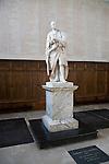 Statue of Isaac Newton, Trinity College chapel, University of Cambridge, England