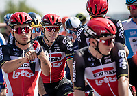 Philippe Gilbert (BEL/Lotto-Soudal) at km 0, waiting for the start & the possibility to add the last missing Monument Classic Trophy onto his mantel shelf at home...<br /> <br /> 'La Primavera' (Spring) in summer!<br /> 111st Milano-Sanremo 2020 (1.UWT)<br /> 1 day race from Milano to Sanremo (305km)<br /> <br /> the postponed edition > exceptionally held in summer because of the Covid-19 pandemic calendar reshuffle