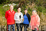 Liam Sweeney, Paula Sweeney, Maeve Riordan and Colette Collins at the BWildered Challenge in Ballymacelligott on Saturday