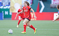 Portland, OR - Saturday July 30, 2016: Mallory Weber during a regular season National Women's Soccer League (NWSL) match between the Portland Thorns FC and Seattle Reign FC at Providence Park.