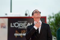 jury member Darren Aronofsky attends the 'Damsels In Distress' premiere and closing ceremony during the 68th Venice Film Festival