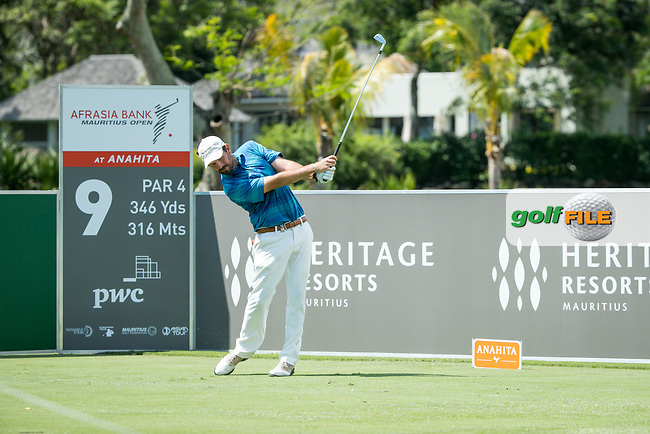Thomas Aiken (RSA) during the 3rd round of the AfrAsia Bank Mauritius Open, Four Seasons Golf Club Mauritius at Anahita, Beau Champ, Mauritius. 01/12/2018<br /> Picture: Golffile | Mark Sampson<br /> <br /> <br /> All photo usage must carry mandatory copyright credit (&copy; Golffile | Mark Sampson)