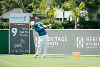 Thomas Aiken (RSA) during the 3rd round of the AfrAsia Bank Mauritius Open, Four Seasons Golf Club Mauritius at Anahita, Beau Champ, Mauritius. 01/12/2018<br /> Picture: Golffile | Mark Sampson<br /> <br /> <br /> All photo usage must carry mandatory copyright credit (© Golffile | Mark Sampson)