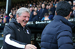 Crystal Palace's manager Roy Hodgson smiles as he shakes hands with Arsenal's head coach Mikel Arteta during the Premier League match at Selhurst Park, London. Picture date: 11th January 2020. Picture credit should read: Paul Terry/Sportimage