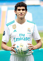 Real Madrid's new player Jesus Vallejo.