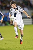 CARSON, CA - November 4, 2012: LA Galaxy midfielder David Beckham (23) during the LA Galaxy vs the San Jose Earthquakes at the Home Depot Center in Carson, California. Final score LA Galaxy 0, San Jose Earthquakes 1.