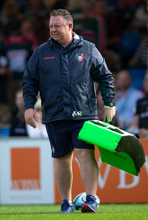 Leicester Tigers' Head Coach Matt O'Connor<br /> <br /> Photographer Bob Bradford/CameraSport<br /> <br /> Gallagher Premiership - Exeter Chiefs v Leicester Tigers - Saturday September 1st 2018 - Sandy Park - Exeter <br /> <br /> World Copyright © 2018 CameraSport. All rights reserved. 43 Linden Ave. Countesthorpe. Leicester. England. LE8 5PG - Tel: +44 (0) 116 277 4147 - admin@camerasport.com - www.camerasport.com