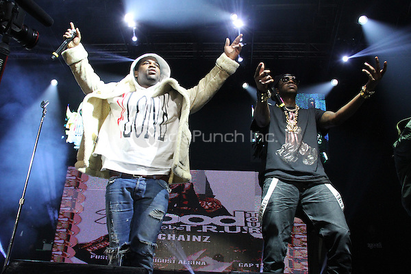 NEW YORK, NY - FEBRUARY 5, 2014<br /> <br /> ASAP Ferg &amp; 2 Chainz perform at the 2 Good To Be Tru Tour at Roseland Ballroom, February 5, 2012 in New York City.<br /> <br /> <br /> Walik Goshorn / MediaPunch