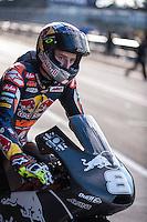 Jack Miller in pit line at pre season winter test IRTA Moto3 & Moto2 at Ricardo Tormo circuit in Valencia (Spain), 11-12-13 February 2014