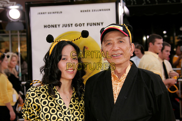 "JAMES HONG.""Bee Movie"" Los Angeles Premiere held at Mann's Village Theatre, Westwood, California, USA, 28 October 2007..half length hairband bee head band.CAP/ADM/RE.©Russ Elliot/AdMedia/Capital Pictures."