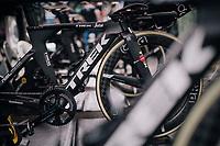 Team Trek-Segafredo ready for warmup<br /> <br /> UCI MEN&lsquo;S TEAM TIME TRIAL<br /> Ötztal to Innsbruck: 62.8 km<br /> <br /> UCI 2018 Road World Championships<br /> Innsbruck - Tirol / Austria