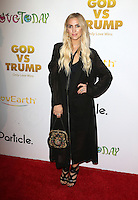 "Hollywood, CA - NOVEMBER 07: Ashlee Simpson at Premiere Of ""God vs Trump"" At TCL Chinese Theatre, California on November 07, 2016. Credit: Faye Sadou/MediaPunch"