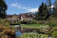 AUT, Oesterreich, Kaernten, Millstaetter See, Seeboden: Kurpark | AUT, Austria, Carinthia, Lake Millstatt, Seeboden: spa gardens