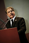 Discours d'Amine Gemayel, ancien président du Liban, au BIEL lors de la commémoration de l'assassinat de Rafic Hariri le 14 février 2011 - Amine Gemayel, former president of Lebanon, during his speech at the BIEL, for the commemoration of Rafik Hariri's assassination, February 14, 2011.