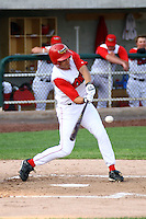 July 10th 2008:  Donato Giovanatto of the Orem Owlz, Rookie Class-A affiliate of the Los Angeles Angels of Anaheim,  during a game at Home of the Owlz Stadium in Orem, UT.  Photo by:  Matthew Sauk/Four Seam Images