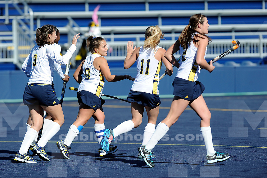 University of Michigan field hockey defeats the University of New Hampshire, 3-2, on Senior Day at  Ocker Field in Ann Arbor on Oct. 26, 2014.