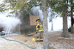 Mifflin Township Division of Fire Training Fire, Hamilton Rd. February 6th, 2011.