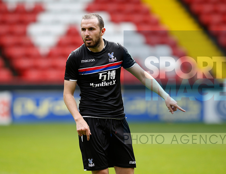Jordan Match of Crystal Palace during the Professional Development U23 match at Bramall Lane, Sheffield. Picture date 4th September 2017. Picture credit should read: Simon Bellis/Sportimage