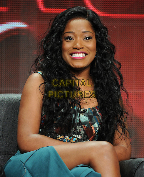BEVERLY HILLS, CA - AUGUST 6: Keke Palmer onstage at the 'Scream Queens' panel during the 2015 FOX Summer TCA tour at the Beverly Hilton Hotel on August 6, 2015 in Beverly Hills, California. <br /> CAP/MPI/PGFM<br /> &copy;PGFM/MPI/Capital Pictures