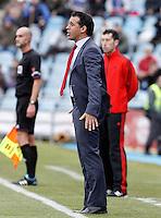 Getafe's coach Luis Garcia during La Liga match.December 15,2012. (ALTERPHOTOS/Acero) /NortePhoto