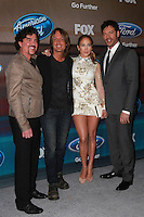 Scott Borchetta, Keith Urban, Jennifer Lopez, Harry Connick Jr.<br />