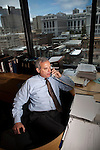 California Field Poll director Mark DiCamillo works in his San Francisco, Calif. office June 1, 2010..CREDIT: Max Whittaker for The Wall Street Journal.Pollster