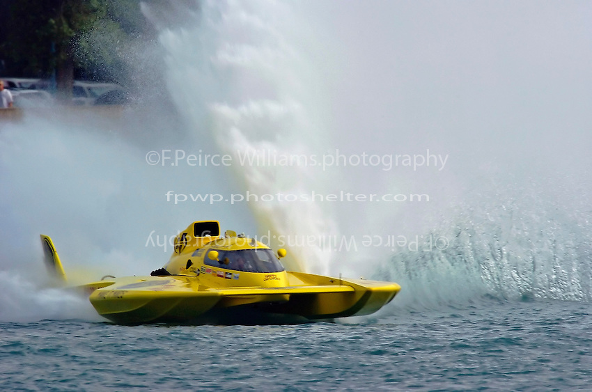 "Greg Hopp. GP-1 ""Happy Go Lucky"" (Grand Prix Hydroplane(s)"