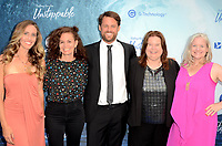 "LOS ANGELES - JUL 9:  Becky Hamilton, Carol Martori, Aaron Leiber, Penny Edmiston, Jane Kelly Kosek at the ""Bethany Hamilton: Unstoppable"" Los Angeles Premiere at the ArcLight Theater on July 9, 2019 in Los Angeles, CA"