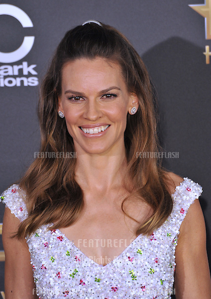Hilary Swank at the 2014 Hollywood Film Awards at the Hollywood Palladium.<br /> November 14, 2014  Los Angeles, CA<br /> Picture: Paul Smith / Featureflash