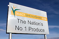Select Lincolnshire field sign