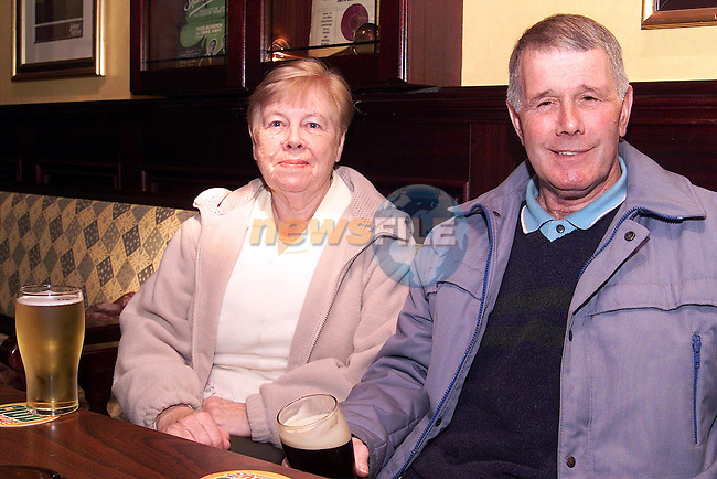 Christopher and Myra Burke from Laytown in The Laurances Inn..Picture: Paul Mohan/Newsfile