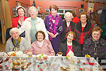 Pictured at the Dromid ICA's annual Christmas Party at the Inny Tavern, Dromid on Sunday afternoon last were front l-r; Veronica Schulz, Nora Curran, Mary O'Shea, Mary Fitzgerald, back l-r; Helen O'Sullivan, Eileen Sugrue, Hannie O'Shea, Joan O'Callaghan & Nuala O'Sullivan.  Nora Curran seated second from left is the eldest lady in the parish and will celebrate her 91st birthday on the 14th December.