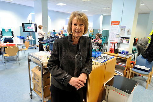 Blood Transfusion Centre - Glasgow - Moira Eadie - picture by Donald MacLeod – 10.11.11 – clanmacleod@btinternet.com 07702 319 738 donald-macleod.com