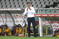 Paulo Fonseca coach of AS Roma during the Serie A football match between Torino FC and AS Roma  at Olimpico stadium in Roma (Italy), July 29th, 2020. Play resumes behind closed doors following the outbreak of the coronavirus disease. Photo Gino Mancini / Insidefoto
