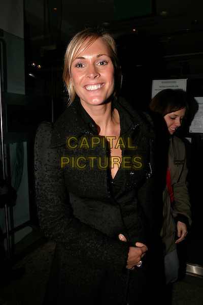 JENNI FALCONER.The Brit Awards 2006 with Mastercard - shortlist announced at Riverside Studios, W6, London, UK..January 10th, 2006.Ref: AH.nominations Jenny half length black.www.capitalpictures.com.sales@capitalpictures.com.© Capital Pictures.