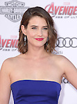 "Cobie Smulders attends The World Premiere of Marvel's ""Avengers"" Age of Ultron,"" held at The Dolby Theatre in Hollywood, California on April 13,2015                                                                               © 2014 Hollywood Press Agency"