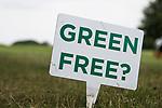 GROESBEEK - Green Free?  Is de green verlaten?  Golfbaan Het Rijk van Nijmegen. COPYRIGHT  KOEN SUYK