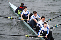 Crew: 290  George Heriots Sch  Event: Junior Fours<br /> <br /> Schools' Head of the River 2017<br /> <br /> To purchase this photo, or to see pricing information for Prints and Downloads, click the blue 'Add to Cart' button at the top-right of the page.