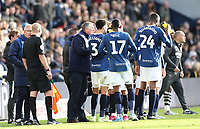 Blackburn Rovers manager Tony Mowbray issues instructions to his side during a break in play<br /> <br /> Photographer Rich Linley/CameraSport<br /> <br /> The EFL Sky Bet Championship - Preston North End v Blackburn Rovers - Saturday 26th October 2019 - Deepdale Stadium - Preston<br /> <br /> World Copyright © 2019 CameraSport. All rights reserved. 43 Linden Ave. Countesthorpe. Leicester. England. LE8 5PG - Tel: +44 (0) 116 277 4147 - admin@camerasport.com - www.camerasport.com