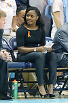 11 November 2013: UNC assistant coach Ivory Latta. The University of North Carolina Tar Heels played the University of Tennessee Lady Vols in an NCAA Division I women's basketball game at Carmichael Arena in Chapel Hill, North Carolina. Tennessee won the game 81-65.