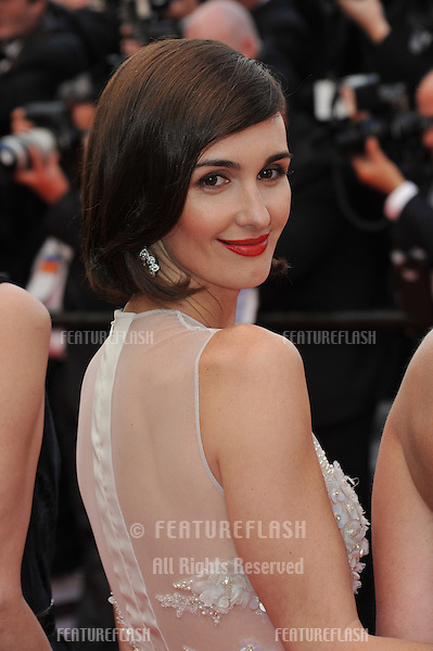 Paz Vega at the gala premiere of her movie &quot;Grace of Monaco&quot; at the 67th Festival de Cannes.<br /> May 14, 2014  Cannes, France<br /> Picture: Paul Smith / Featureflash