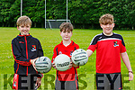 Harry O'Connor Morgan O'Brien Mikey Moroney  getting back into training mode in Fossa GAA
