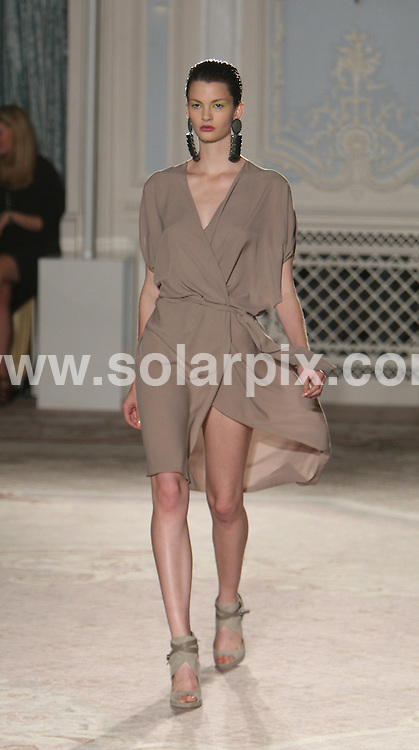 **ALL ROUND PICTURES FROM SOLARPIX.COM** **WORLDWIDE SYNDICATION RIGHTS** .London Fashion Week Maria Grachvogel Runway 2012 at Somerset House in London on 16 September 2011.This pic:     Maria Grachvogel Runway .JOB REF:     13959     MLW     DATE: 16.09.11 .**MUST CREDIT SOLARPIX.COM OR DOUBLE FEE WILL BE CHARGED** **MUST AGREE FEE BEFORE ONLINE USAGE** **CALL US ON: +34 952 811 768 or LOW RATE FROM UK 0844 617 7637**.
