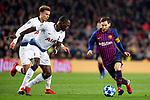 UEFA Champions League 2018/2019 - Matchday 6.<br /> FC Barcelona vs Tottenham Hotspur FC: 1-1.<br /> Sissoko vs Leo Messi.