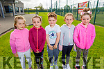 Emma Tagney, Aoife ireland Patrick Hobbert, Bree and Abby Rogers enjoying the Sports Camp at the Tralee Sports Complex on Monday.