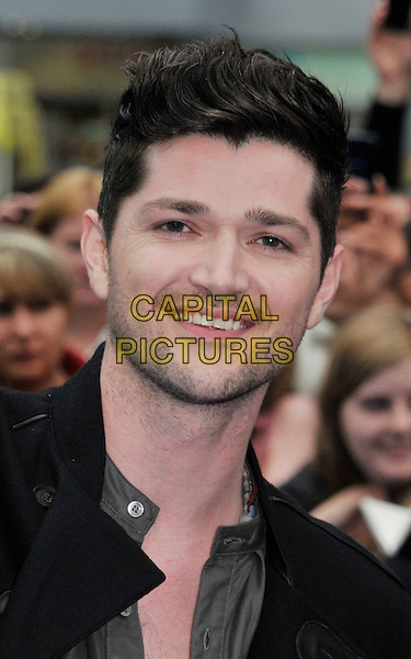Danny O'Donoghue .The 'Prometheus' world film premiere, Empire cinema, Leicester Square, London, England..May 31st, 2012.headshot portrait black stubble facial hair  .CAP/WIZ.© Wizard/Capital Pictures.